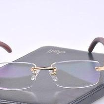 New Cartier Wood Glasses Free Shipping Photo