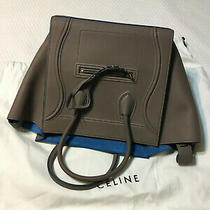 New Celine Phantom Medium Luggage in Taupe Leather Bag With Dust Bag Photo