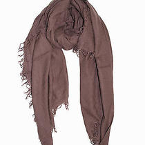 New Chan Luu Long Crinkle Soft Cashmere & Silk Scarf Wrap Shawl Peppercorn Photo
