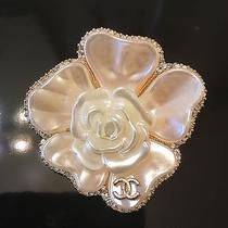 New Chanel Vip Gift Camellia Flower Pin Brooch  Photo