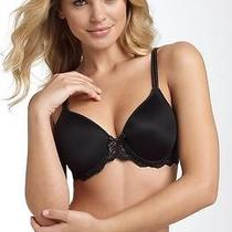 New Chantelle 3286 Rive Gauche Full Cup Bra 38c Black Photo