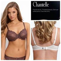 New Chantelle Rive Gauche 3 Part Cup Bra 3281 Full Cup Chocolate Brown 40dddd Photo