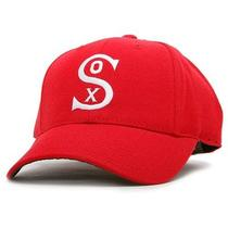 New Chicago White Sox 1929-32 Alternate Cooperstown Fitted Cap - Scarlet 7 3/8 Photo