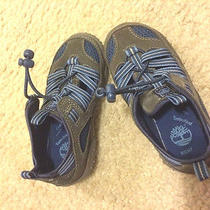 New Childrens Boys Timberland Summer Beach Wet Water Sandals Shoes Hiking 8 7 Photo
