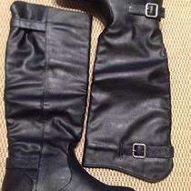New Chinese Laundry Women 5.5 Nice Shot Tall Boots Faux Leather Black Girls 3.5 Photo