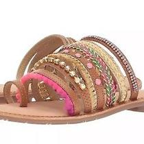 New Chinese Laundry Womens Palma Toe Ring Sandals Pink Multi 6.5m Us Pretty Photo