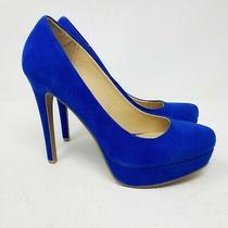 New Chinese Laundry Wonder Womens Club Blue High Heel Platform Pumps Size 8 Photo