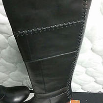 New Chloe 1395 Elah Tuscan Leather Patchwork  Knee-High Boots 9.5/10 Photo