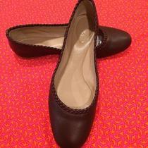 New Chloe Ballet Flats in Brown Alga Soft Premium Leather 38.5 / 7.5 Photo