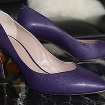 New Chloe Plated-Heel Pumps  Size 39 Photo