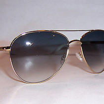 New Christian Dior Piccadilly 2/s J5g-Jj Gold/gray Sunglasses Authentic Photo