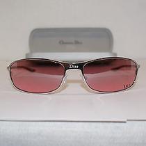 New Christian Dior Silver Sunglasses Mod. Hard Dior 2 Photo
