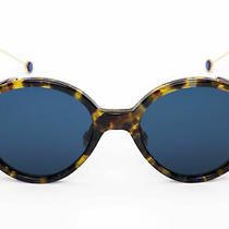 New Christian Dior Umbrage 00x4-52-20 52mm Blue Havana Gold Tortoise Sunglasses Photo