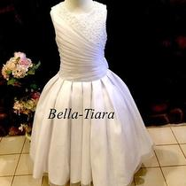 New Christie Helen Designer Communion Dress - Size 7 - Wholesale Photo