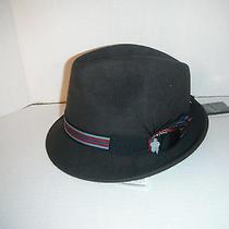 New Christys Deluxe 100%  Wool Fedora Hat Medium Photo