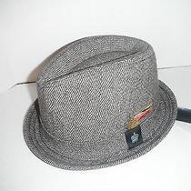 New Christys Deluxe Tweed Wool Fedora Hat Large Photo