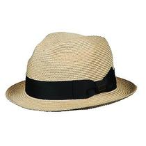New Christys London Unisex Hemp With Grosgrain Trim Fedora Hat Photo