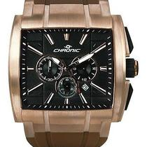 New Chronic Dc 09 Dice Rose Gold Brown Watch Photo