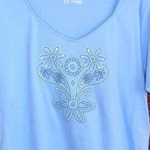 New Classic Elements  Womens  T Shirt Top 100% Cotton Size S Photo