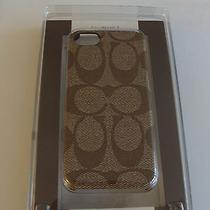 New Coach 66166 Signature Iphone 5 Cell Phone Case  Photo