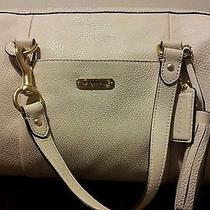 New Coach Avery Leather Satchel Color-Stone Photo