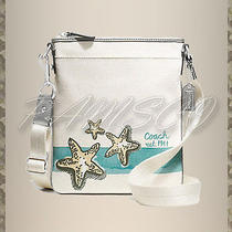 New Coach Beach Starfish Motif Swingpack Crossbody Bag F47314 128 Nwt Fun Fun Photo