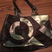 New Coach Brown and Copper Handbag Photo