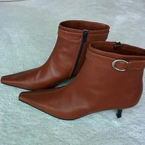 New Coach Brown Leather Boots - Size 9 1/2 Photo