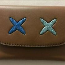 New Coach Brown Leather Card Wallet Photo