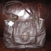 New Coach Campbell Leather Brown