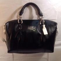 New Coach Colette Leather Satchel 428 Photo