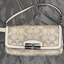 New Coach Creme Color Clutch Bag Photo
