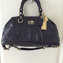 New Coach Designer Handbag Patent Leather Photo