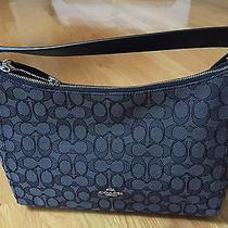 New Coach East/west Celeste Convertable Hobo in Signature Black F58284 Photo
