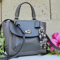 New Coach Faye Convertible Satchel Backpack Glove/buffalo Leather Purse 34830 Photo