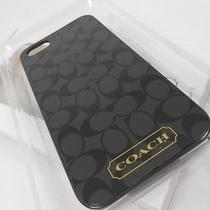 New Coach Iphone 5 Case.  New in Box.  Black Signature F65899 Photo