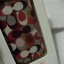 New Coach Iphone Case  4  4s  F64554 Ashley Scarf Print     New in Box Photo