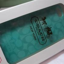 New Coach Iphone Case  5      Aqua     Signature  F65336  New in Box Photo