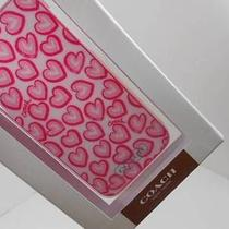 New Coach Iphone Case  5 Heart Print New in Box  F68443 Photo