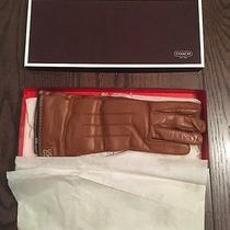 New Coach Leather Women's Gloves Photo