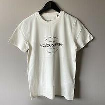 New Coach Logo T-Shirt Size Vintage Inspired Size Xs 100% Cotton in White Photo