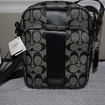 New Coach Mens Womens Flight Bag Crossbody Messenger Travel Camera Bag (F70589)  Photo