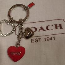 New Coach Multi Mix Key Chain Key Ring Fob F92834 Photo
