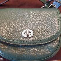 New Coach Park Leather Mini Crossbody Bag Handbag Purse With Dust Bag Photo