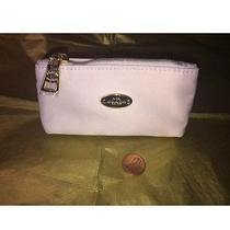 New Coach Small Zip Coin Case in Signature Nwt Photo