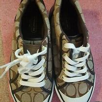 New Coach Sneakers Size 5b Photo