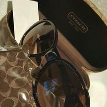 New Coach Sunglasses Hc8051 L045 Claire W/case Photo
