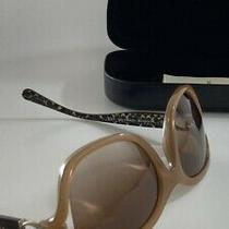 New Coach Sunglasses Hc8238 (L1030) T 554313 Beige Tortoise Brown Gradient Italy Photo