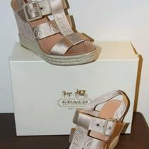 New Coach Wedge Sandals - Size 11 Photo