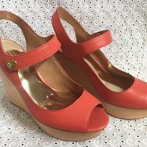 New Coach Wedge Sandals Size 7 Photo
